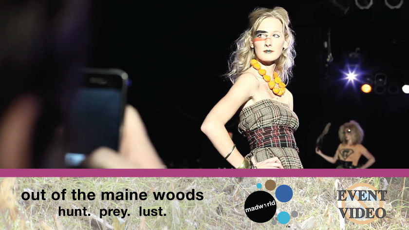 No Umbrella--Madworld Designs fall fashion show event video