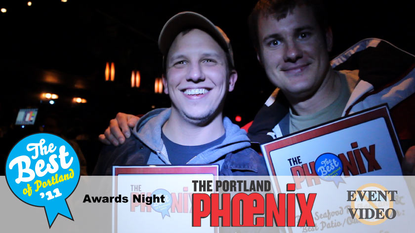 No Umbrella--The Portland Phoenix BEST of Portland Awards Show event video