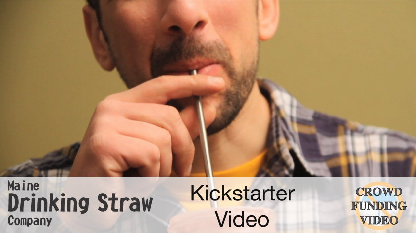 No Umbrella--Maine Drinking Straw Company crowdfunding video