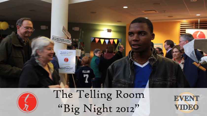 No Umbrella--Telling Room's Big Night 2012 event video