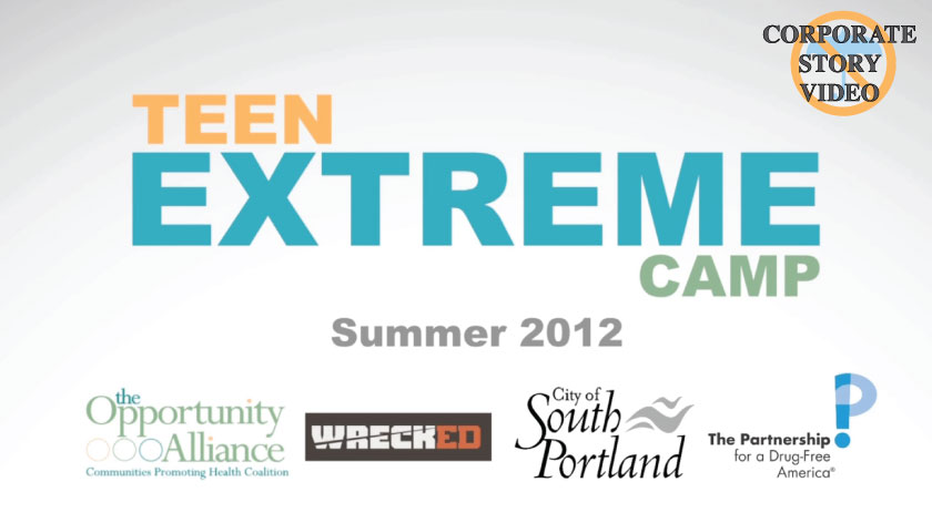 No Umbrella--Opportunity Alliance/South Portland Recreation Teen Extreme Youth Camp public service announcement video
