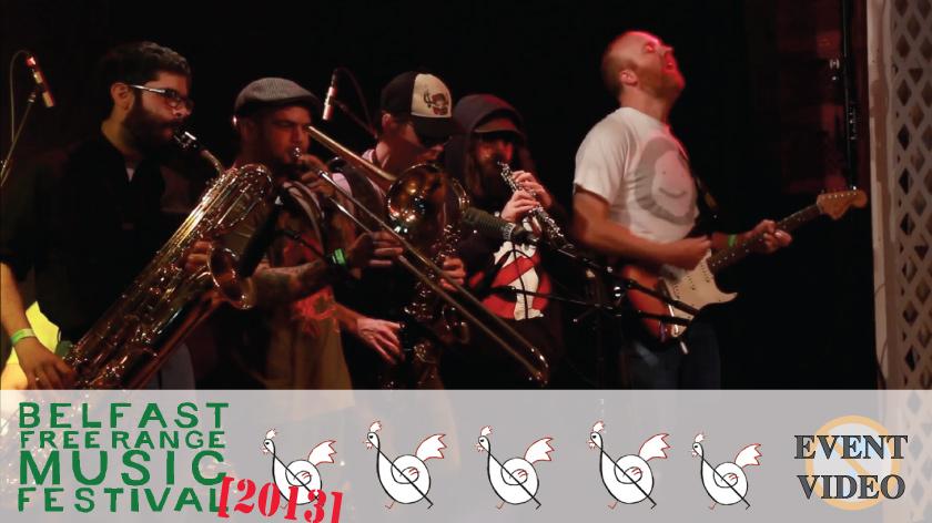 No Umbrella--2013 Belfast Free Range Music Festival event video