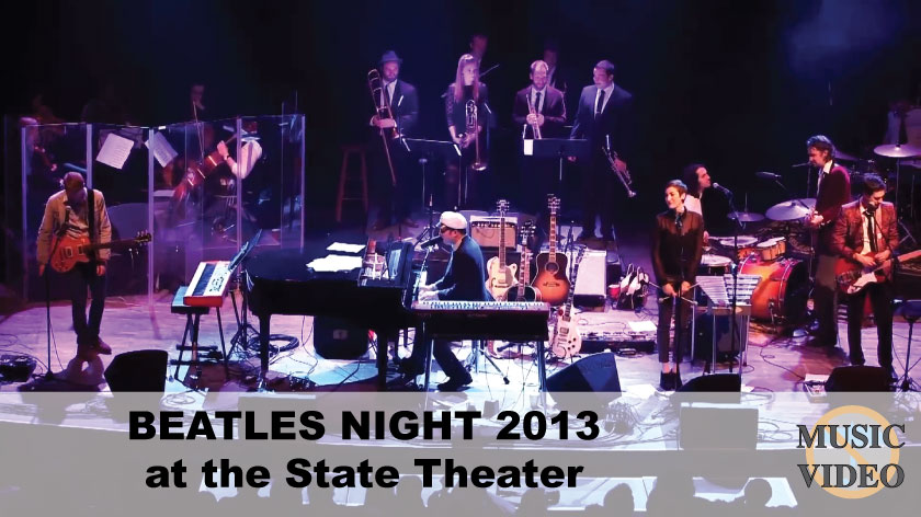 No Umbrella--Spencer and the League of Bandsmen Beatles Night 2013 concert video