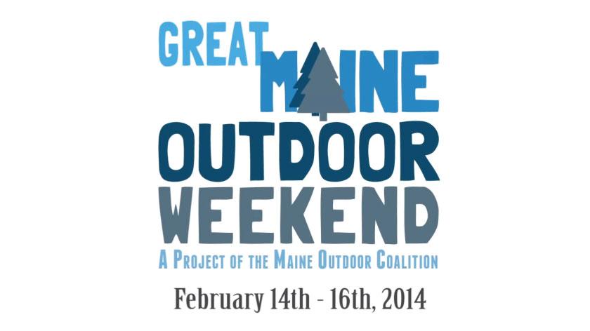 No Umbrella--Great Maine Outdoor Weekend winter 2014 promo video
