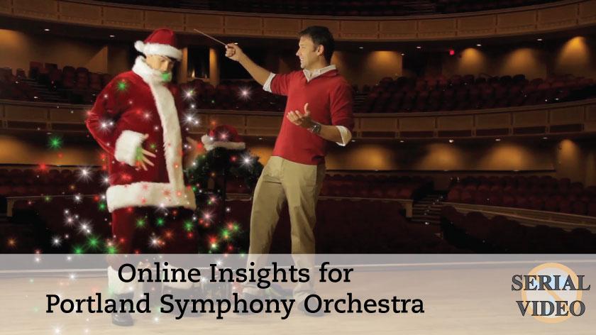 No Umbrella--Portland Symphony Orchestra online insights video