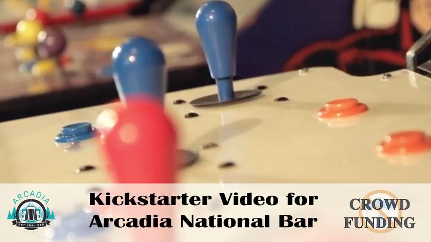 No Umbrella--Arcadia National Bar crowdfunding video