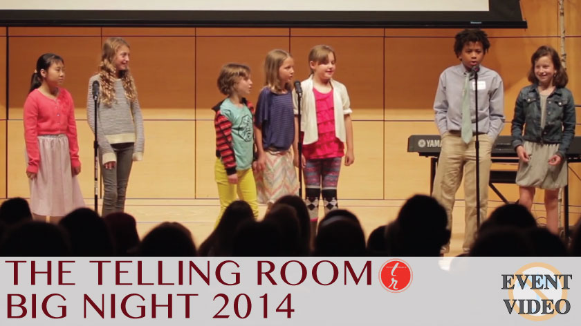 No Umbrella--Telling Room's Big Night 2014 event video