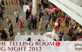 Telling Room Big Night 2013