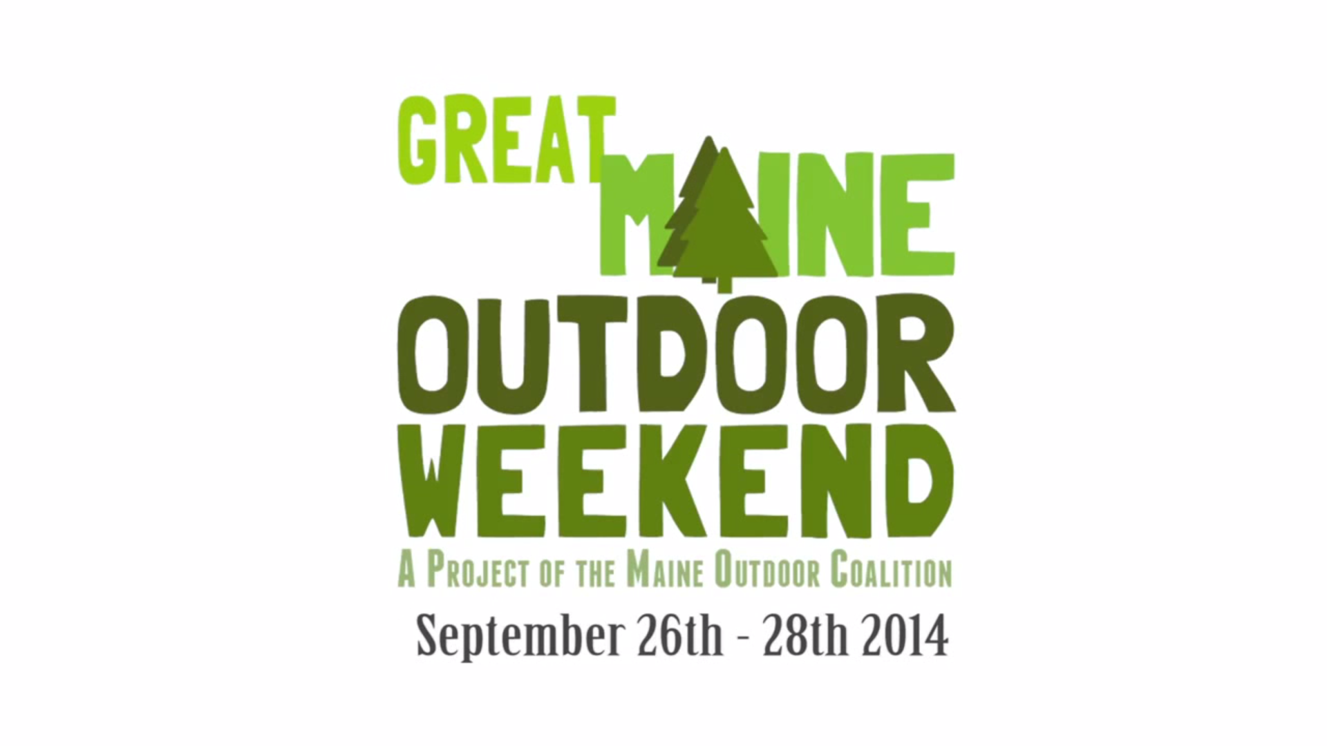No Umbrella--Great Maine Outdoor Weekend promo video
