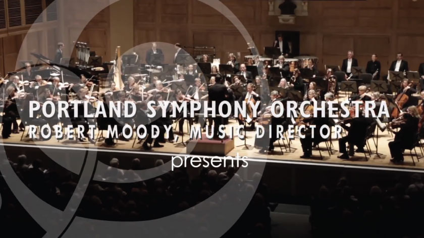 No Umbrella--Portland Symphony Orchestra commentary video
