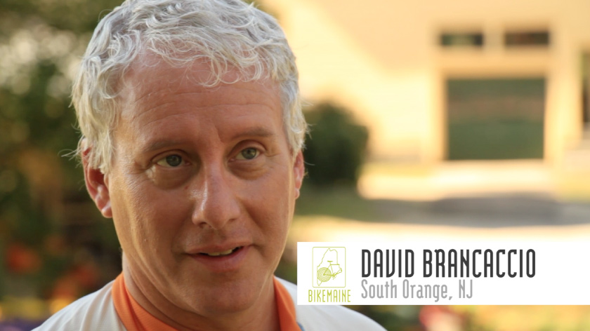 No Umbrella--BikeMaine marketing videos feat. David Brancaccio