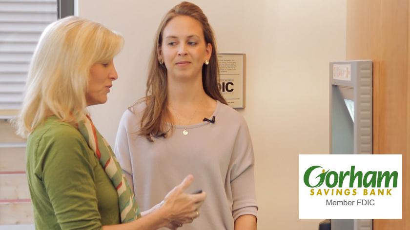 No Umbrella--Gorham Savings Bank instructional video