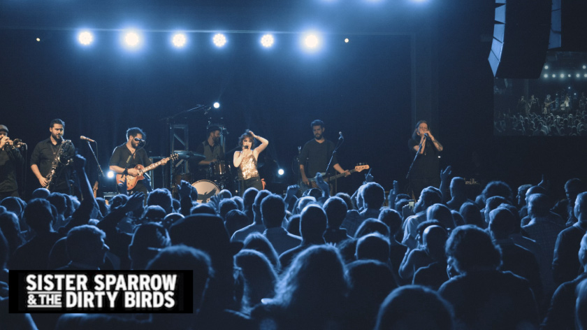 Sister Sparrow and the Dirty Birds - Concert Blu-Ray